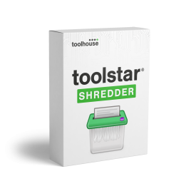 toolstar<sup>®</sup>shredderWIN PLUS