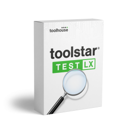 toolstar<sup>®</sup>testLX mit shredder
