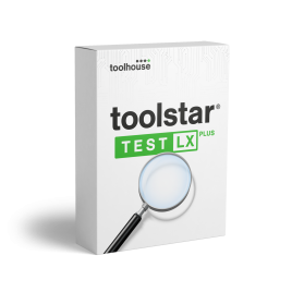 toolstar<sup>®</sup>testLX PLUS mit shredder