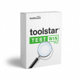 toolstar®testWIN mit shredderWIN PLUS